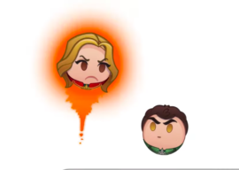 """Captain Marvel"" Becomes the Latest Subject of Disney's ""As Told By Emoji"" Series"