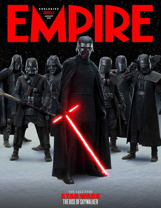 Empire Magazine Star Wars The Rise Of Skywalker Covers Reveal Look At The Knights Of Ren Laughingplace Com