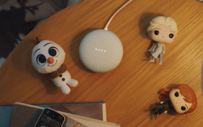 Frozen Stories Come Home with Google Assistant Smart Speakers