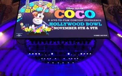 "Hollywood Bowl Celebrates Disney/Pixar's ""Coco"" with Star-Studded Live-to-Film Concert Experience"