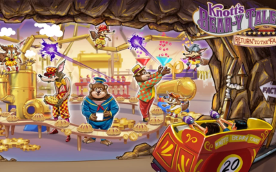 """Knott's Bear-Y Tales: Return to the Fair 4-D"" Comes to Knott's Berry Farm in 2020 to Celebrate Park's 100th Year"