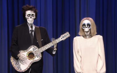 Kristen Bell and Jimmy Fallon Perform Medley of Disney Musical Classics