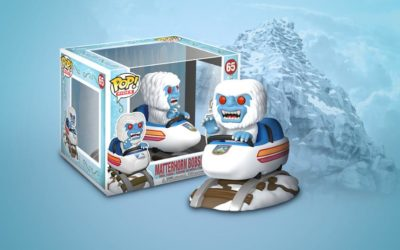 Matterhorn Bobsled Abominable Snowman Funko Pop! Figures Slides Into shopDisney
