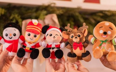November Disney Parks Wishables: Merry Christmas Series