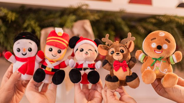 Holiday Season Disney Parks Wishables Collection