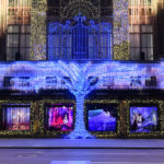 """Saks Fifth Avenue Unveils """"Frozen 2"""" Window Display During Special Ceremony Featuring Idina Menzel"""
