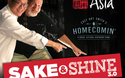 Third Annual Sake & Shine Event Coming to Morimoto Asia and Homecomin' at Disney Springs Next Month