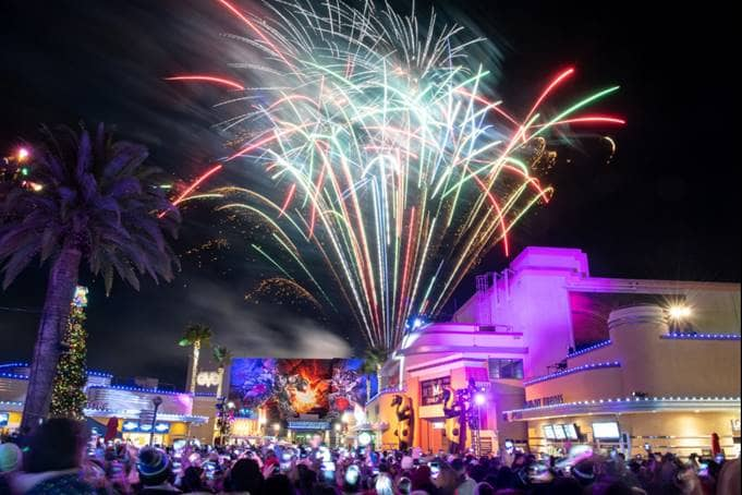 Count Down To 2020 At Universal Studios Hollywood S Annual Eve Party