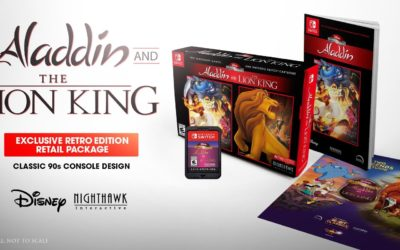 "Disney Classic Games: ""Aladdin"" and ""The Lion King"" Available Now in Retro Edition Bundles at Best Buy"