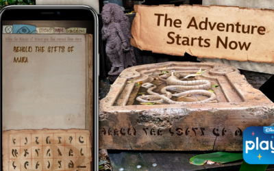 Disneyland's Indiana Jones Adventure Introduces New Play Disney Park App Queue Games