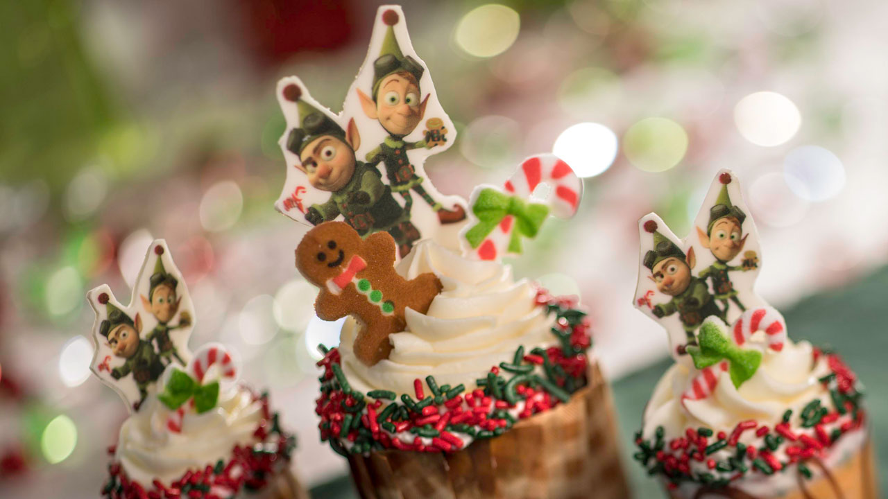 Jingle Bell, Jingle BAM! Holiday Dessert Party for Holidays 2019 at Disney's Hollywood Studios -Gingerbread Cupcakes