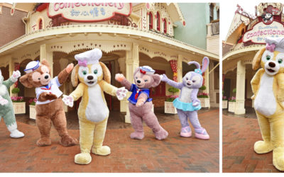 Duffy's Friend CookieAnn to Debut at Shanghai Disney Resort December 26