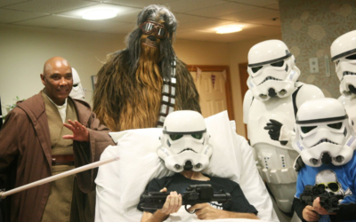 """Patient at British Hospice is Surprised with Special Early Screening of """"Star Wars: The Rise of Skywalker"""""""