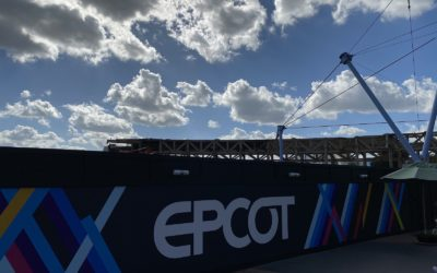 Photo Update - Construction at Epcot