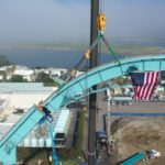 "SeaWorld San Diego's Newest Coaster Celebrates ""Topping Out"" and Installation of the Highest Track Section on ""Emperor"""