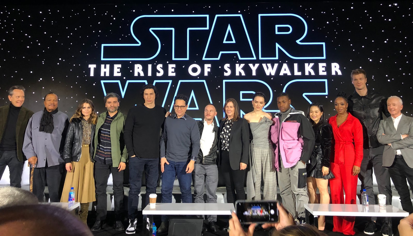 Video Star Wars The Rise Of Skywalker Cast Creative Team Unite For Global Press Conference Laughingplace Com