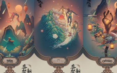 Disney Celebrates Lunar New Year on Chinese Social Media with Release of Speciality Posters