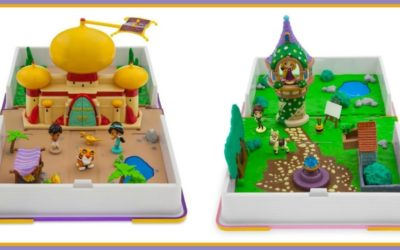 Encourage Creative Play with shopDisney's Princess Storybook Playsets