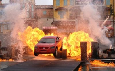 Extinct Attractions: Lights, Motors, Action Extreme Stunt Show
