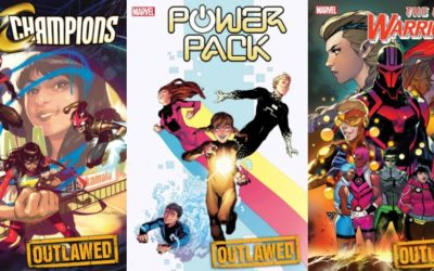 First Look at Three New Marvel Comic Series Premiering This April