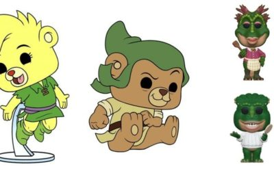"Funko Pop! ""Gummi Bears"" and ""Dinosaurs"" Figures Coming Soon"