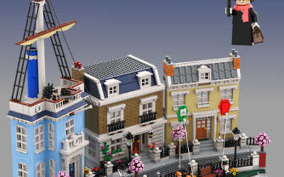 Mary Poppins LEGO IDEAS Set Reaches Milestone 10,000 Supporters