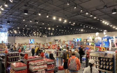 New Mouse Gear Shopping Location Opens Amid Epcot Construction