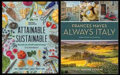 "National Geographic to Publish ""Attainable Sustainable,"" ""Always Italy"" This Spring"