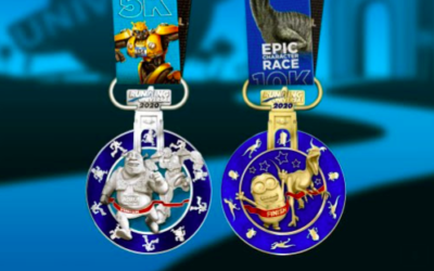 Running Universal Reveals Medal Designs for Epic Character Race 5K and 10K