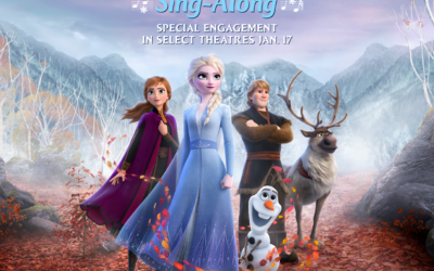 "Sing-Along Version of ""Frozen 2"" Coming to Theaters January 17th"