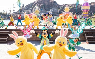 Tokyo DisneySea to Celebrate Easter with Some Springtime Fun