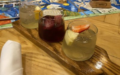 WDW Update: Via Napoli's New Sangria Flight and New Pizza Review