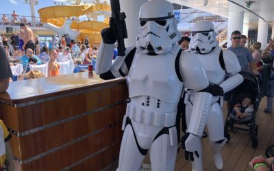 Video/Photos: Star Wars Day at Sea Returns to Disney Cruise Line with Characters, Shows, Much More
