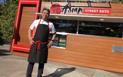 A Closer Look at Asian Street Eats, the New Counter Service Kiosk at Downtown Disney District