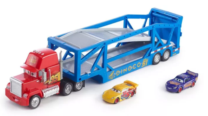 Disney Pixar Cars Launching Mack Transporter - Blue