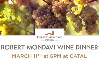 Downtown Disney's Catal Restaurant Will Host Five Course Dinner with Robert Mondavi Wines on March 11