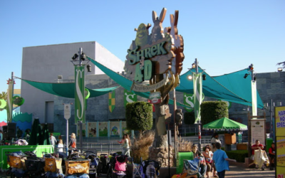 Extinct Attractions - Universal Studios Hollywood's Shrek 4-D