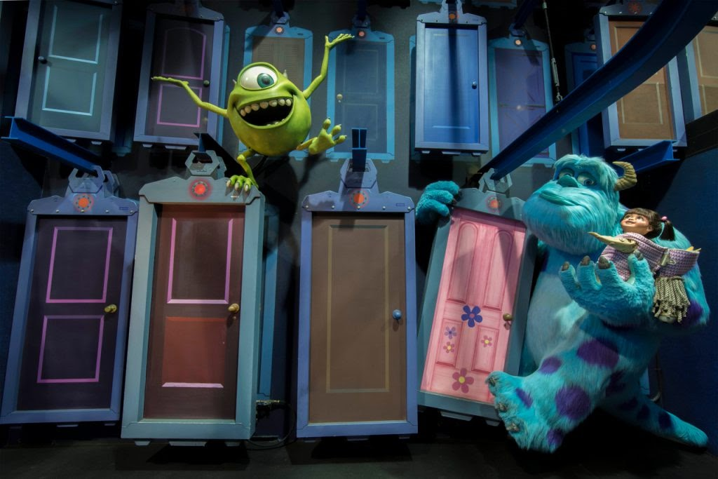 Monsters, Inc. Mike & Sully to the rescue