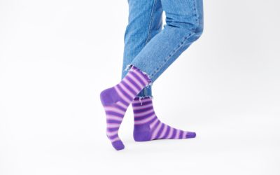 "Happy Socks Releases ""Onward"" Inspired Purple Socks to Celebrate Release of the New Film"