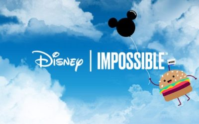 """Impossible Burger to be Named """"Preferred Plant-Based Burger"""" of Disney Resorts as Disney and Impossible Foods Announce Strategic Alliance"""