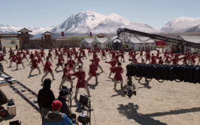 "Disney Shares Behind the Scenes Stunt Video for ""Mulan,"" Tickets Now Available"