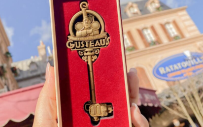 New Ratatouille Attraction Collector's Key Coming to Walt Disney Studios Paris