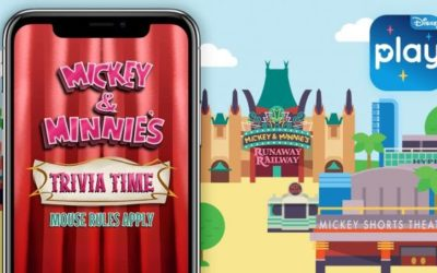 Mickey & Minnie's Trivia Time – Mouse Rules Apply! Coming Soon to Play Disney Parks App