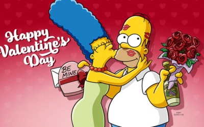 """Celebrate Valentine's Day with """"The Simpsons"""" on Disney+"""