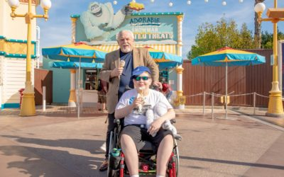 12-Year-Old Wish Kid Meets His Disney Hero, John Ratzenberger