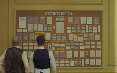 "Searchlight Pictures Releases First Trailer and Poster for Wes Anderson's ""The French Dispatch"""
