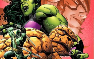 "Marvel's Newly Revealed ""Empyre #4"" Cover Features She-Hulk, The Thing"