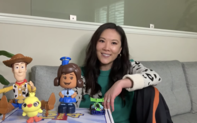 "Ally Maki Reads a ""Toy Story"" Short Story On Disney's YouTube Channel"