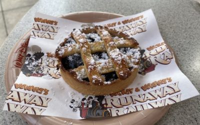 """""""Perfect Picnic"""" Blueberry Pie Rolls into Disney's Hollywood Studios Along with Mickey & Minnie's Runaway Railway"""