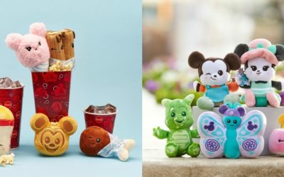 March Disney Park Wishables: Flower & Garden, Mickey & Minnie's Runaway Railway, Disney Parks Food Series 2